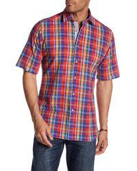 Haspel - Maple Short Sleeve Regular Fit Shirt - Lyst