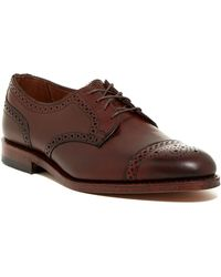 Allen Edmonds - 6th Avenue Cap Toe Derby - Wide Width Available - Lyst