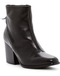 Alberto Fermani - Viva Zip Leather Ankle Boot - Lyst
