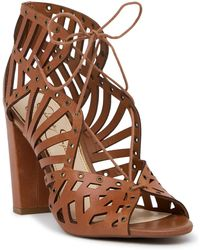 Jessica Simpson - Emagine Lace-up Sandal - Lyst
