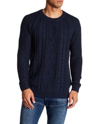 Neuw - Cable Knit Sweater - Lyst