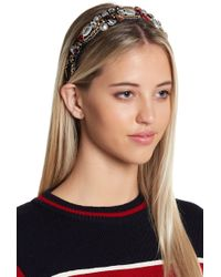Cara - Ornate Embellished Headband - Lyst