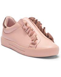 Joie - Daw Ruffle Leather Sneaker - Lyst