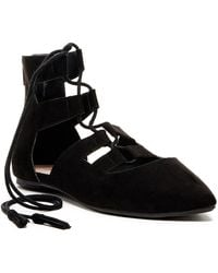 Restricted - Java Lace-up Flat - Lyst