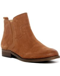 Franco Sarto - Hampton Nubuck Leather Boot - Wide Width Available - Lyst