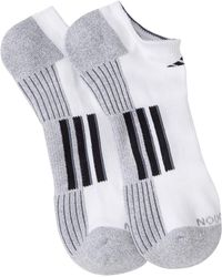 adidas - Climalite No Show Socks - Pack Of 2 - Lyst