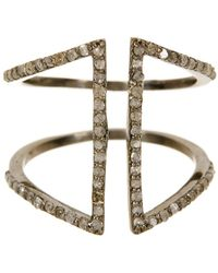 Adornia - Berlin Champagne Diamond Ring - 0.60 Ctw - Lyst