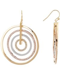 Vince Camuto - Orbital Earrings - Lyst