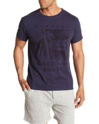 Grayers - Delray Front Graphic Print Tee - Lyst