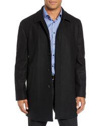John W. Nordstrom - (r) Brandon Plaid Wool Blend Coat - Lyst