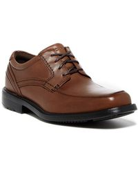 Rockport - Apron Toe Leather Derby - Wide Width Available - Lyst