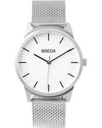 Breda - Men's Bresson Mesh Strap Watch, 39mm - Lyst