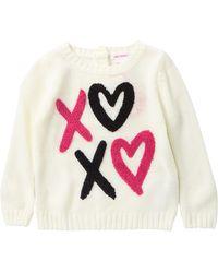 Joe Fresh - Graphic Sweater (baby Girls) - Lyst