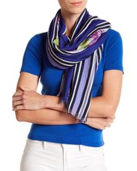 Tommy Bahama - Birds Of Paradise Wool Blend Wrap Scarf - Lyst