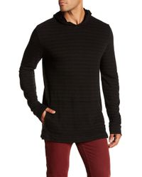 Velvet By Graham & Spencer - Stripe Hooded Pullover - Lyst