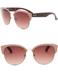 Kenneth Cole Reaction - 55mm Clubmaster Sunglasses - Lyst
