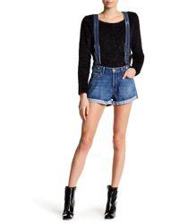 Siwy - Gabriella Suspender Shorts - Lyst