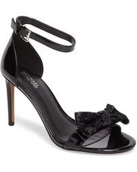 MICHAEL Michael Kors - Paris Sequin Bow Sandal - Lyst