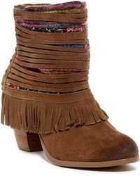 Naughty Monkey - Talyhoe Leather Boot - Lyst