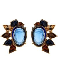 Carolee - Multi-cluster Stud Earrings - Lyst