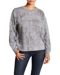 Skull Cashmere - Rose Skull Print Wool Sweater - Lyst