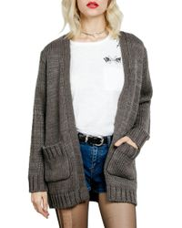 Volcom - Seen Too Much Cardigan - Lyst