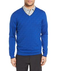 Ted Baker - Armstro Tipped Golf Tee Jumper - Lyst