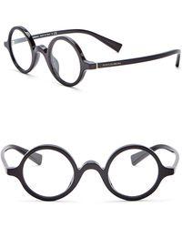 Dolce & Gabbana - 39mm Round Glasses - Lyst
