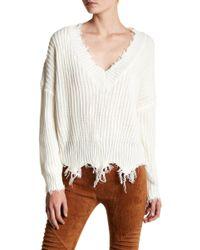 Oober Swank - Distressed Sweater - Lyst