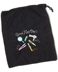 MIAMICA - Good Hair Day! Hair Care Bag - Black - Lyst