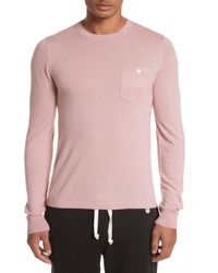 Todd Snyder - Cashmere Long Sleeve T-shirt - Lyst