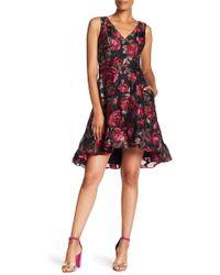 RACHEL Rachel Roy - Sleeveless Metallic Jacquard Knit Dress - Lyst