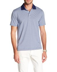 Brooks Brothers - Feeder Striped Golf Polo - Lyst