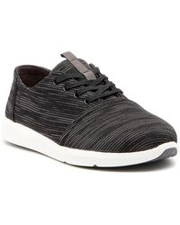 TOMS - Del Rey Lace-up Trainer - Lyst