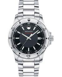 Movado - Men's Sub Sea Series 800 Bracelet Watch - Lyst