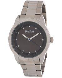 Kenneth Cole Reaction - Men's Black 3 Hand Watch, 44mm - Lyst