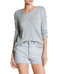 Olive & Oak - Jeremy Long Sleeve Knit Sweater - Lyst