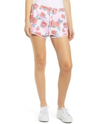 Wildfox - Electric Love Pool Party Shorts   Multi - Lyst
