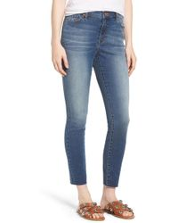Band Of Gypsies - Lola High Waist Skinny Jeans (northern Fest) - Lyst