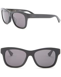 1657ac6182 Gucci Clubmaster Sunglasses in Brown for Men - Lyst