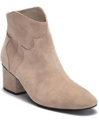 Grey City - Texan Suede Ankle Bootie - Lyst