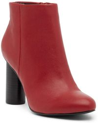 Steve Madden - Rival Cylindrical Heel Bootie - Lyst