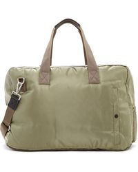 AllSaints - Chamber Cow Leather Trim Holdall Bag - Lyst