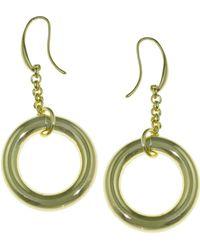 1AR By Unoaerre - Circle Link Earring - Lyst