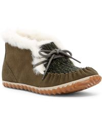 Sorel - Out N About Fleece Lined Moccasin - Lyst