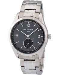 Ben Sherman - Men's Carnaby Driver Bracelet Watch, 42.5mm - Lyst