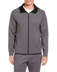 Zella - Tech Interlock Zip Hoodie - Lyst