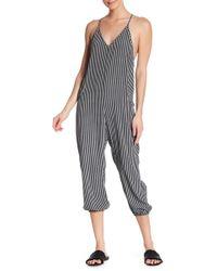 Dress Forum - Striped Jumpsuit - Lyst
