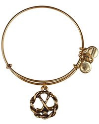 ALEX AND ANI - Golf Clubs Wire Charm Bangle - Lyst