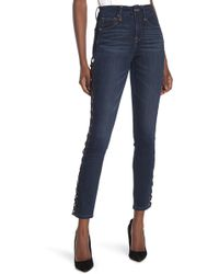 7a676c40 Urban Outfitters Recycled Blown Out Destroyed Levi's Jean in Blue - Lyst